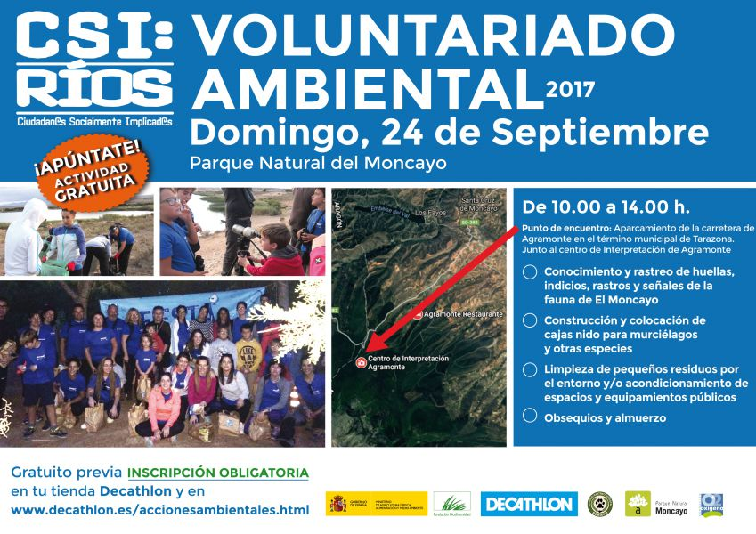 VOLUNTARIADO AMBIENTAL MONCAYO
