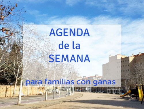 agenda de la semana 8