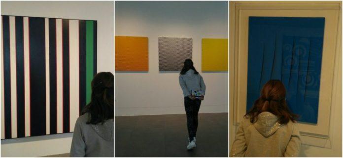 Dos exposiciones muy visuales con niños