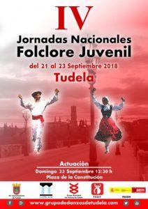 Jornadas de folclore juvenil 2018 Tudela