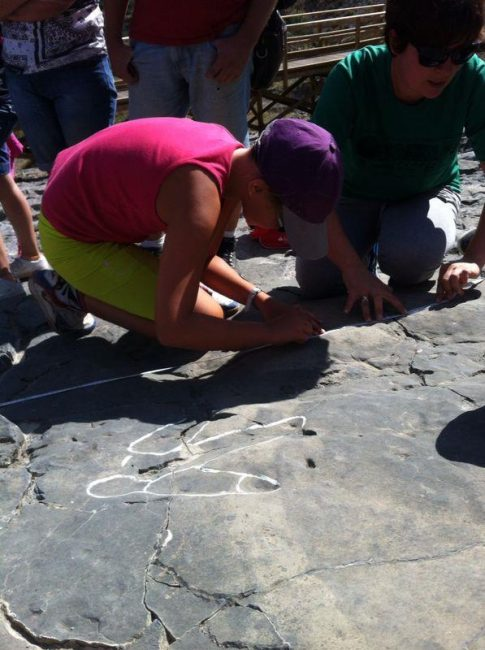 Diversión entre dinosaurios, en Igea