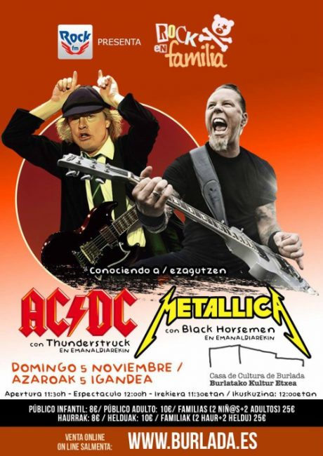 Metallica en Burlada