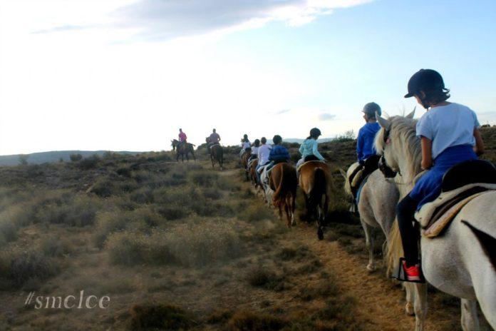 paseo a caballo en Fitero