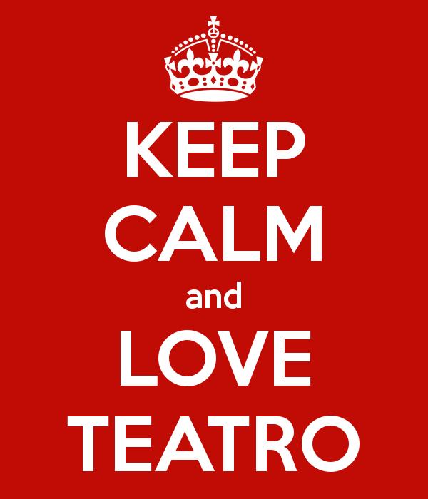 Keep calma love teatro