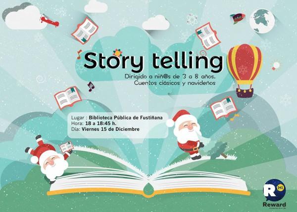 story telling biblioteca de Fustiñana