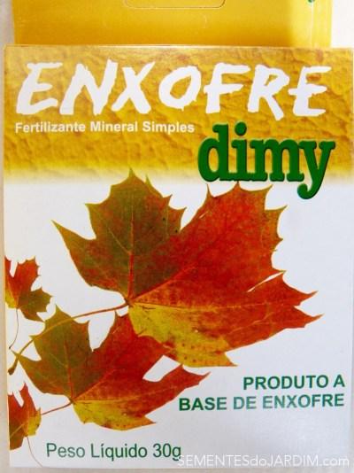 Enxofre Dimy - Acaricida e Fertilizante Foliar
