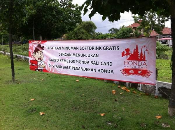 Tunjukkan Semeton Honda Bali Card Anda !!!