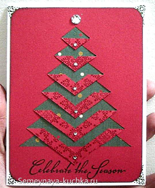 چگونه یک کارت پستال سال نو را بسازیم
