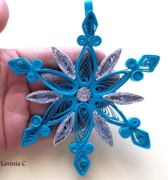 Snowflake pentru Anul Nou cu propriile mâini