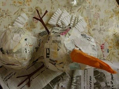 Master Class Snowman Paper