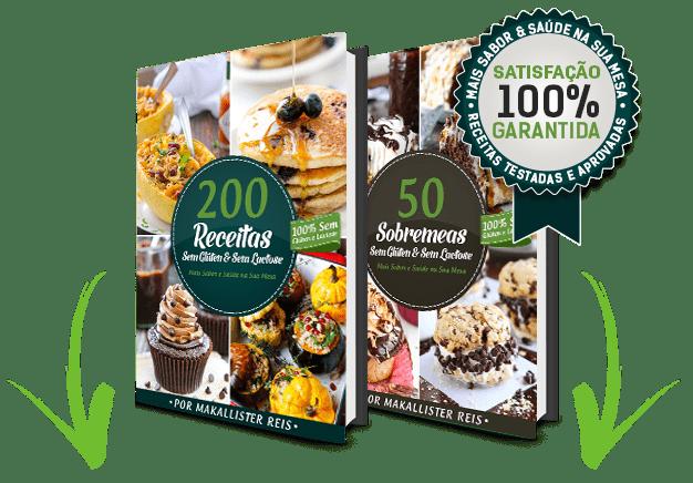 200 Receitas sem Glúten e sem Lactose mais Bônus Exclusivo