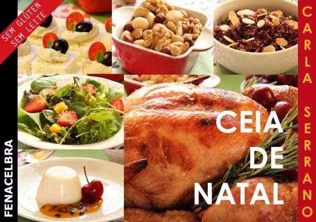 Ceia de Natal sem Glúten sem Leite - Chef Carla Serrano