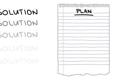 drawing of resolutions vs plans
