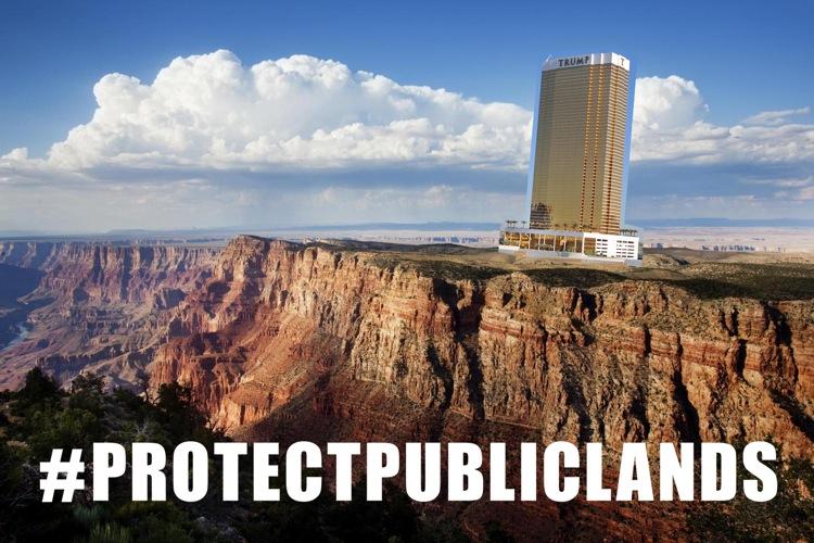 grand canyon hotel public land heist