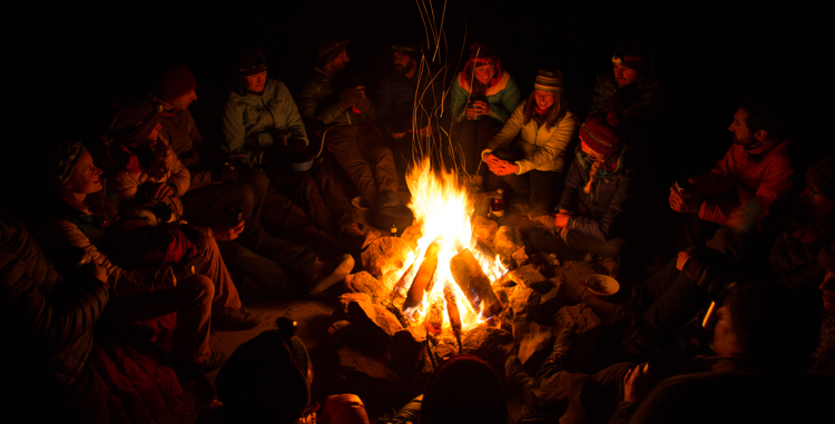 a letter from your campfire you're welcome