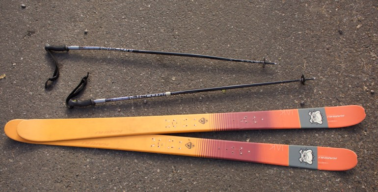 used skis and poles for sale