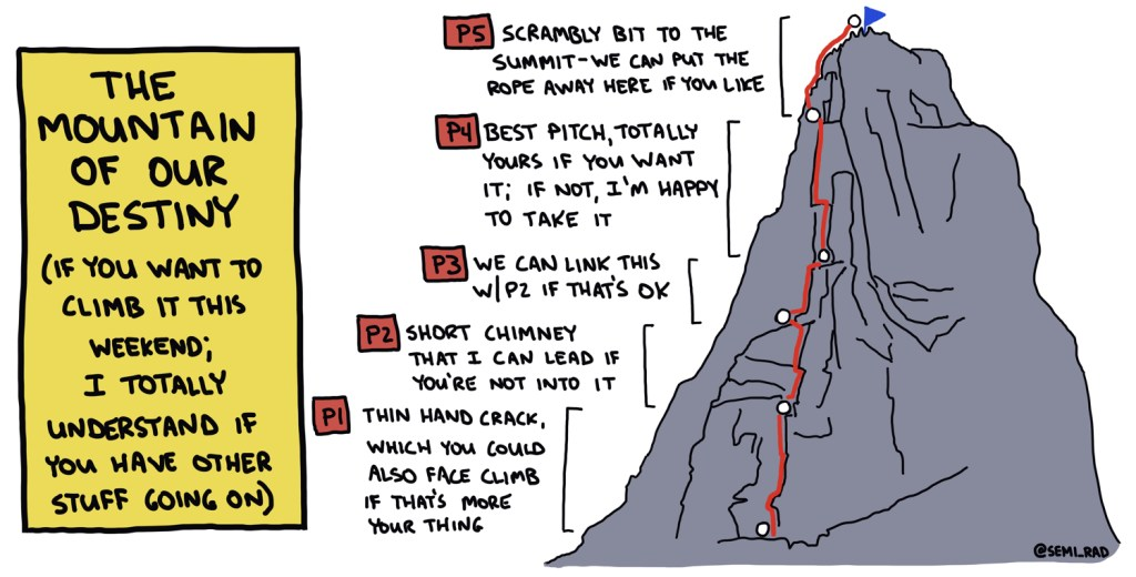 The People-Pleaser's Plan For Climbing A Mountain