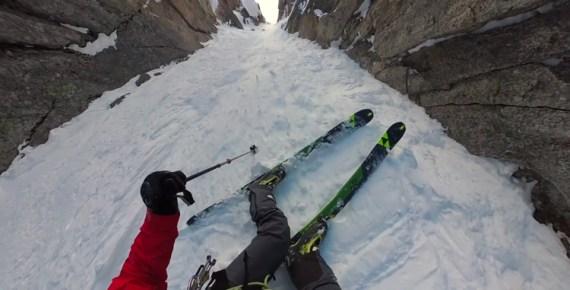 screen capture from gulp, breath, skiing is fun