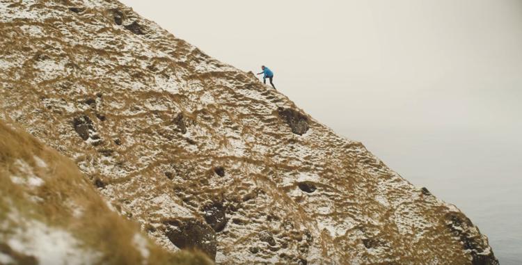 screen capture from For Pastor Sverri Steinholm, running in the Faroe Islands is Spiritual