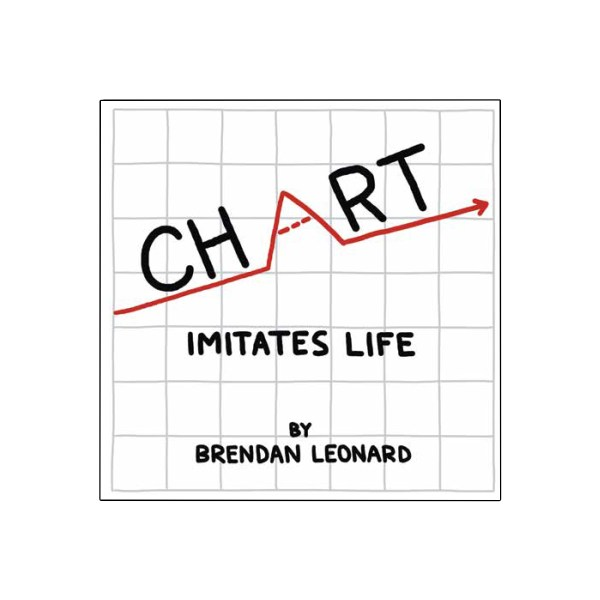 chart imitates life signed copy