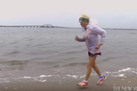screen capture from Meet the Eighty-Six-Year-Old Running the New York City Marathon