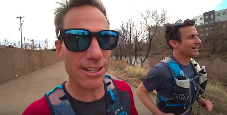 screen capture from Brendan Leonard is Running 52 Marathons in 2019-Running with Ryan-Ep 10