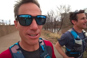 screen capture from Brendan Leonard is Running 52 Marathons in 2019-Running with Ryan-Ep 10