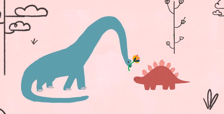 screen capture from Dinosaurs In Love - Fenn Rosenthal (Feat.Tom Rosenthal)