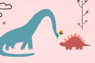 screen capture from Dinosaurs In Love - Fenn Rosenthal (Feat.Tom Rosenthal)
