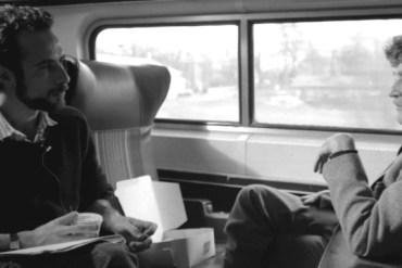 screen capture from Kurt Vonnegut Unstuck In Time Official Trailer
