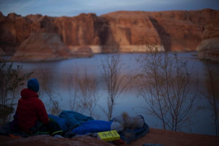 a campsite in glen canyon
