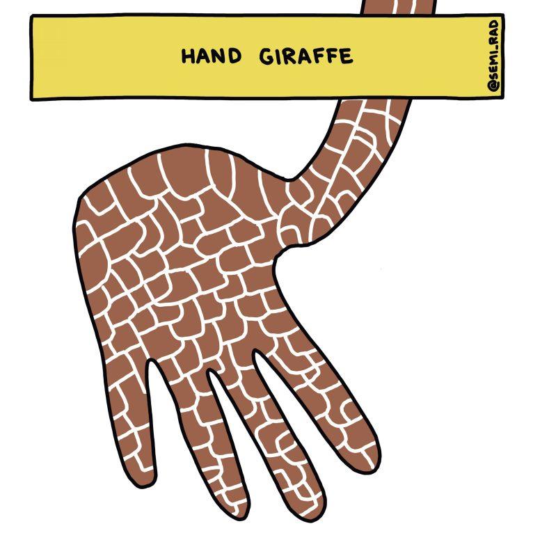 Semi-Rad Hand Giraffe