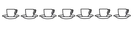 7 turkish coffee cups