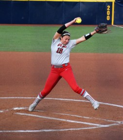 Buckeyes Pitcher Shelby Hursh struck out 10 batters on the night