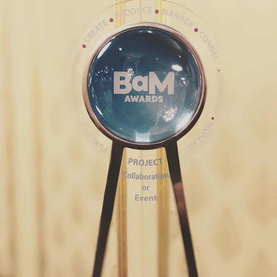 BaM Award Trophy 2019