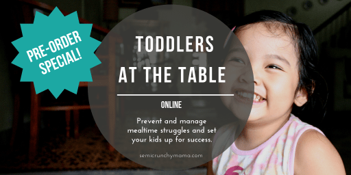 Toddlers at the Table pre-order! $59 through Monday