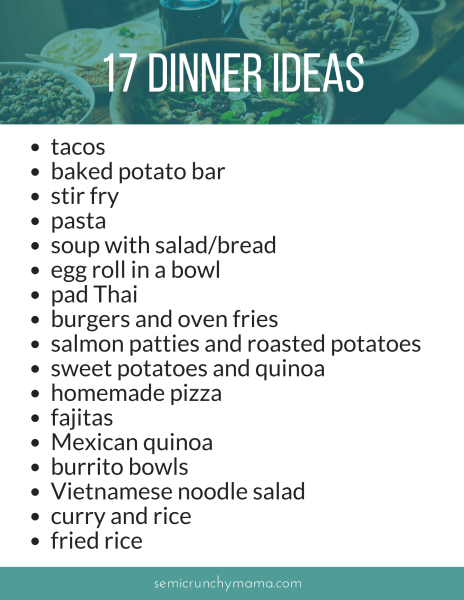 17 Easy Kid-Friendly Dinner Ideas