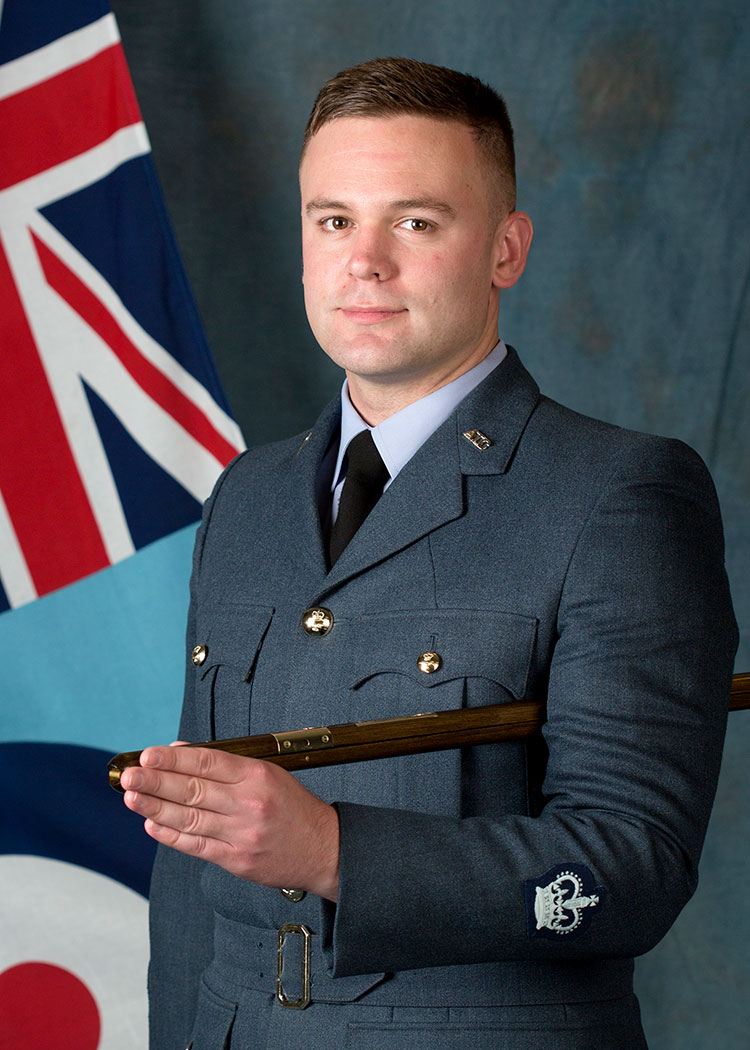 Warrant Officer Dominic Chisholm