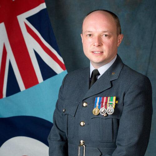 Wing Commander Andrew Pass
