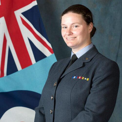 Squadron Leader Linda Wapplington-Richards