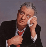 """Rodney Dangerfield: """"When I was young my parents moved a lot, but I always found them."""""""