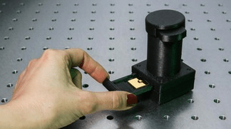 Optical lab on a chip
