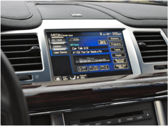 Figure 1. Ford SYNC in 2014 (Photo courtesy of Ford)