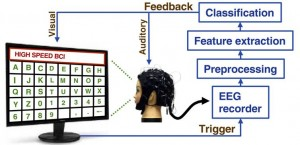 System diagram of the brain speller. (Image by IOS)