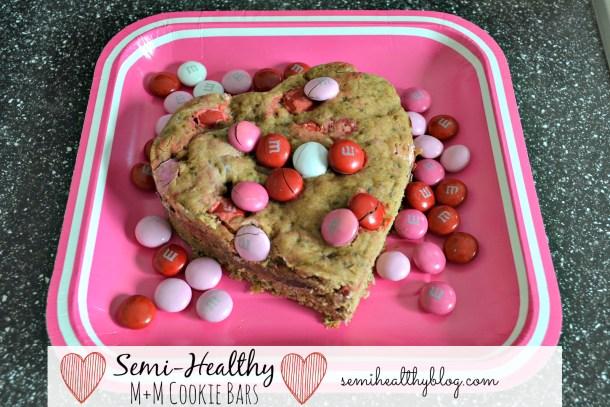 lovingly healthy cookie bars