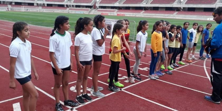 """Colegio participa en campeonato atlético """"Copa San Gerónimo 2019"""""""