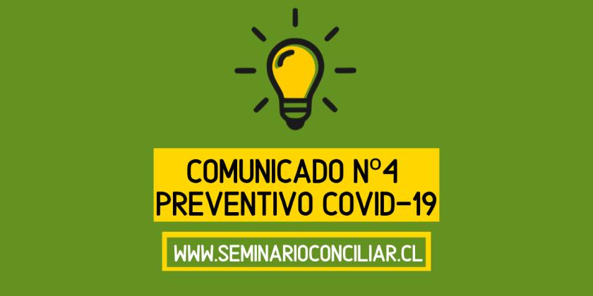COMUNICADO Nº 4 PREVENTIVO COVID-19