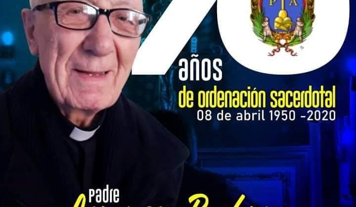 70 AÑOS DE ORDENACIÓN SACERDOTAL P. LORENZO BADERNA