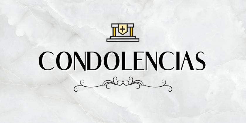 Condolencias Cónsul de Italia en la región Coquimbo