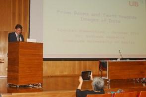 23/10. Andreas Degwitz, Mesa das Bibliotecas. Foto: Jorge Viana.